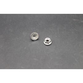 Ecrous à Embase Crantée Inox A2-70  5mm