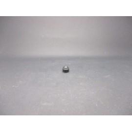 Cache-écrous Nylon coloris Noir 4mm