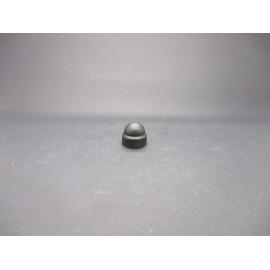 Cache-écrous Nylon coloris Noir 8mm