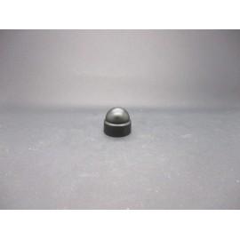 Cache-écrous Nylon coloris Noir 10 mm