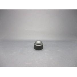 Cache-écrous Nylon coloris Noir 12 mm