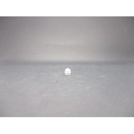 Cache-écrous Nylon Coloris Gris clair 4 mm