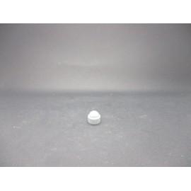 Cache-écrous Nylon Coloris Gris clair 5 mm