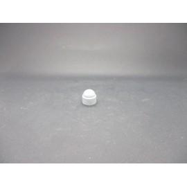 Cache-écrous Nylon Coloris Gris clair 6 mm