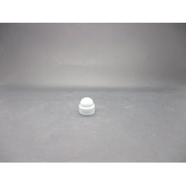 Cache-écrous Nylon Coloris Gris clair 8 mm