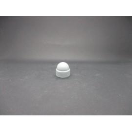Cache-écrous Nylon Coloris Gris clair 10 mm