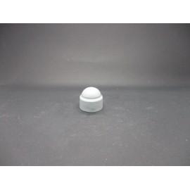 Cache-écrous Nylon Coloris Gris clair 12 mm