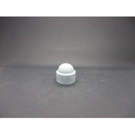 Cache-écrous Nylon Coloris Gris clair 16 mm