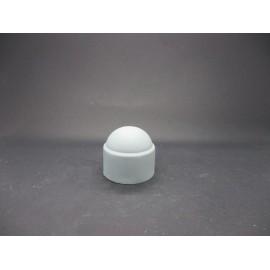 Cache-écrous Nylon Coloris Gris clair 20 mm