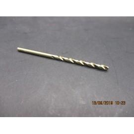 foret cobalt M2.5 pour perçage inox