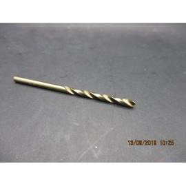 foret cobalt M3.2 pour perçage inox