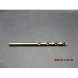 foret cobalt M3.5 pour perçage inox