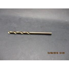 foret cobalt M4 pour perçage inox
