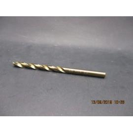 foret cobalt M5 pour perçage inox