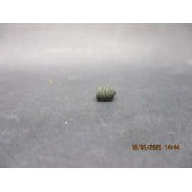 Vis STHC bout pointeau acier brut 10.9 4x5