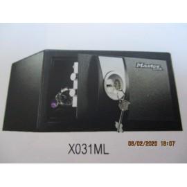 Coffre Fort Master Lock à clé X031ML petite taille